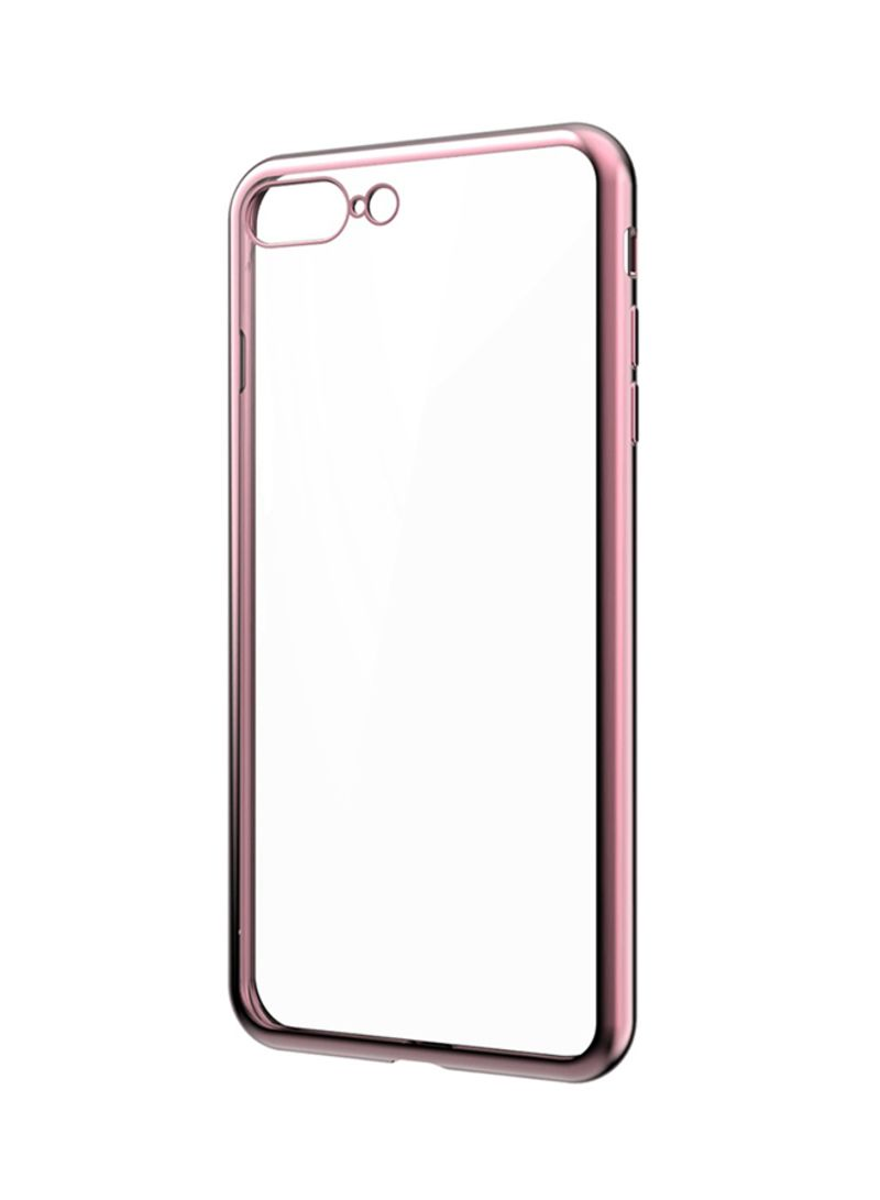 Flash Case With Metallic Electroplating For iPhone 8 Plus/iPhone 7 Plus  Rose Gold