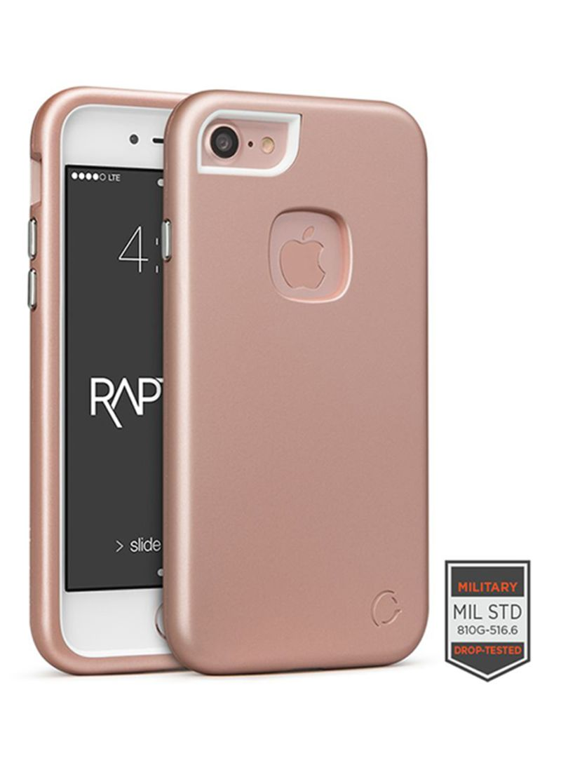 Challenger Rapture Elite Case For Iphone 8 Iphone 7 Rose Gold White