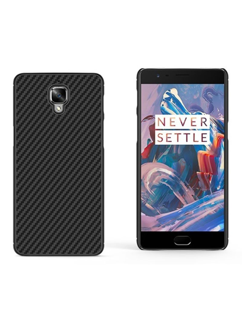 online store f99d8 980ae Shop Nillkin Carbon Fiber Synthetic Protective Case For OnePlus 3/3T ...