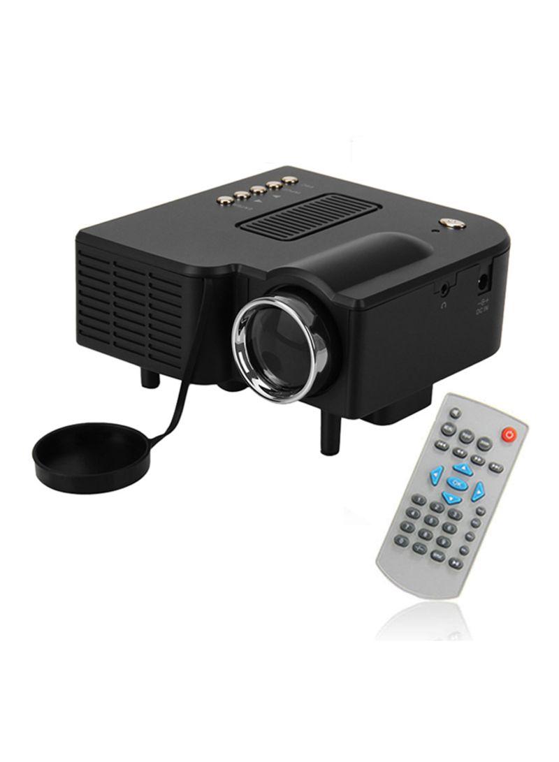 Proj 1002 B Portable Mini Led Projector Black Categories Proyektor Unic Uc40