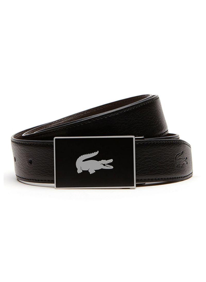 8c3d4297db Shop Lacoste Reversible Leather Belt Black/Brown online in Riyadh ...