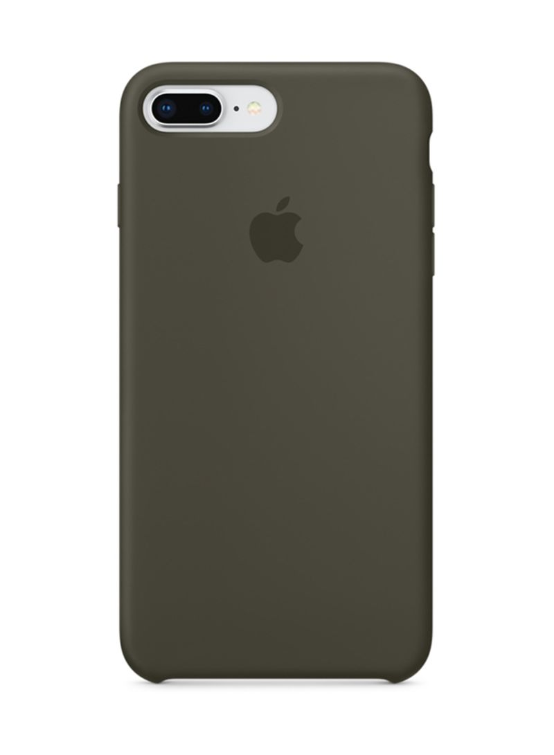 new product 3fc05 3dffa Shop Apple Silicone Case For iPhone 8 Plus/iPhone 7 Plus Dark Olive ...