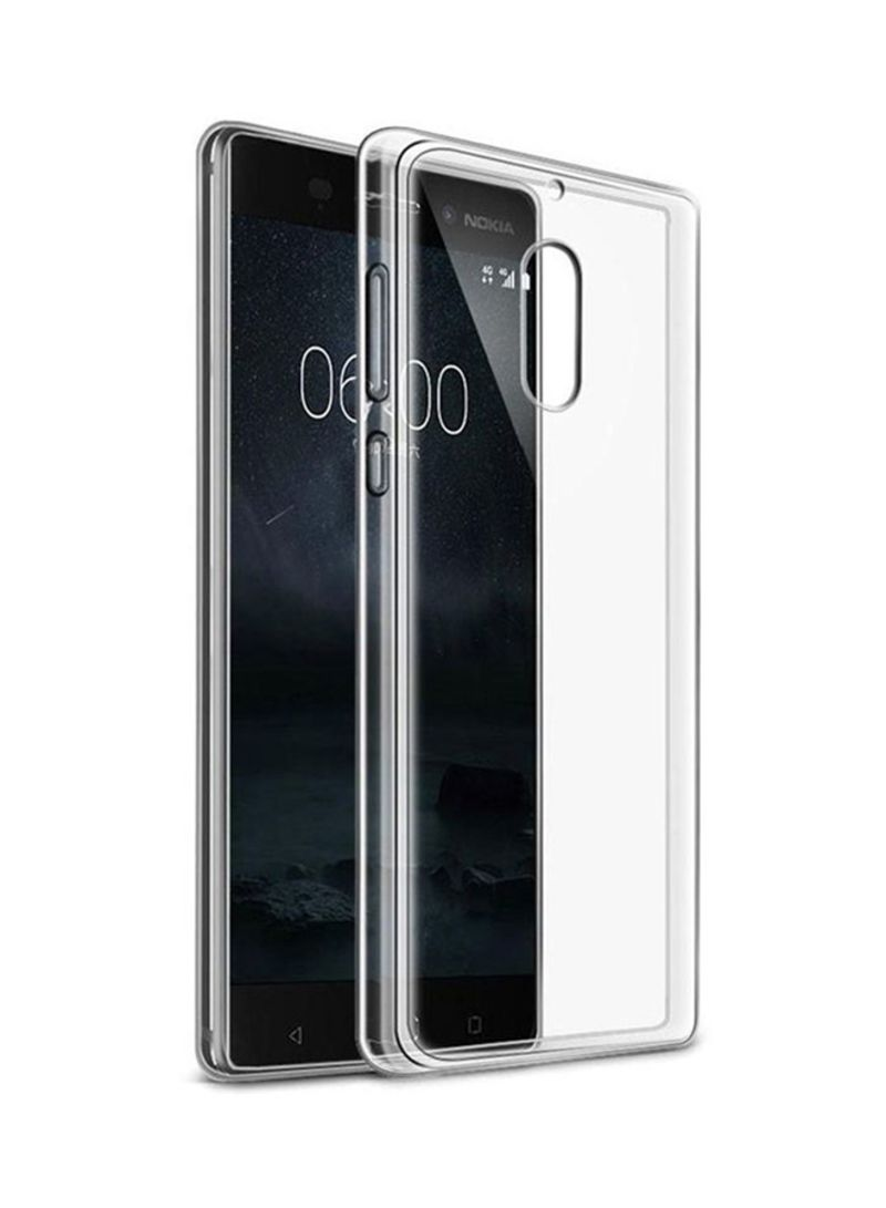 Silicone Back Cover For Nokia 6 Clear