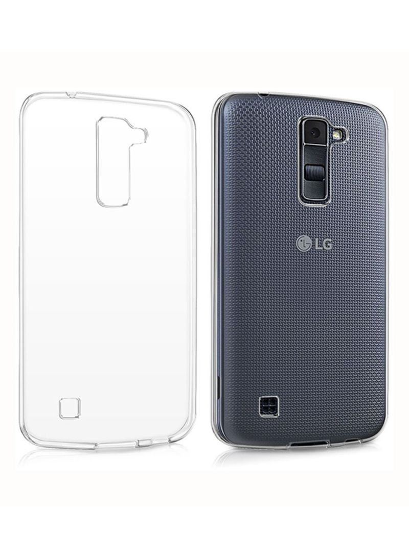 otherOffersImg_v1509460425/N12594773A_1. INEIX. Silicone Back Cover For LG K10 Clear