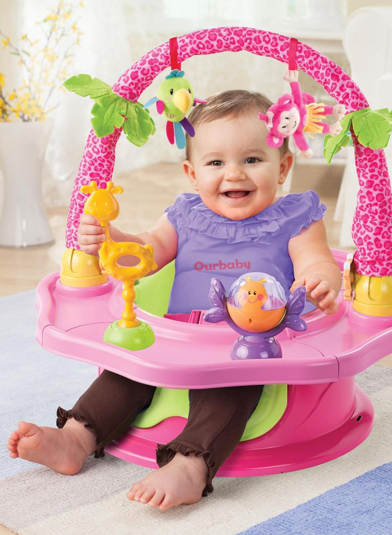 Booster Summer Infant 3-Stage SuperSeat Deluxe Giggles Island Positioner