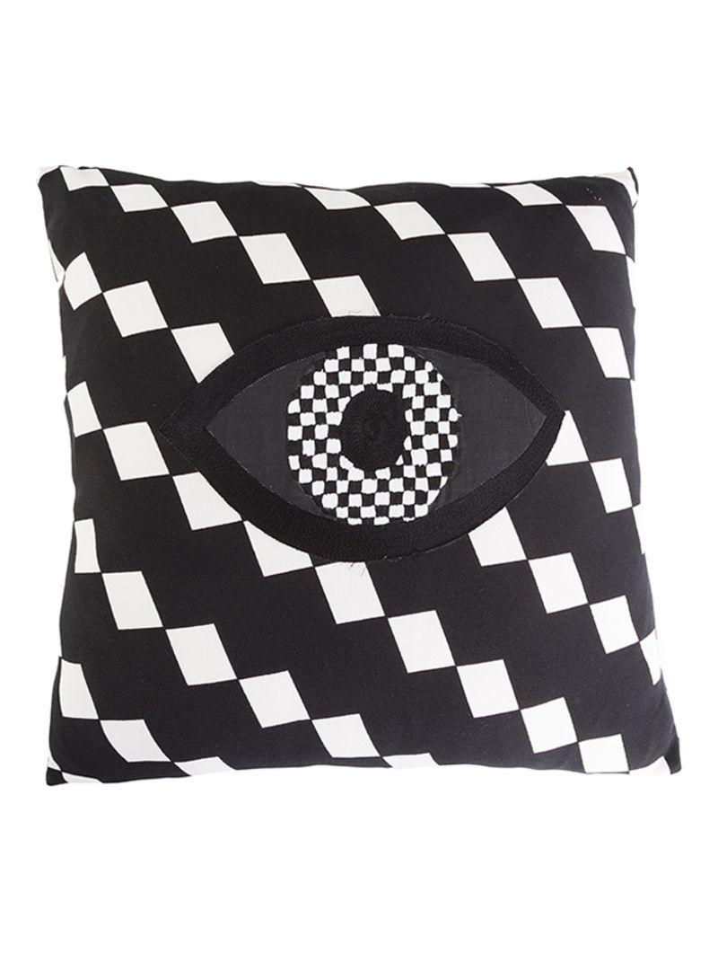 Dvan Naz Decorative Pillow Black White Price In Saudi Arabia