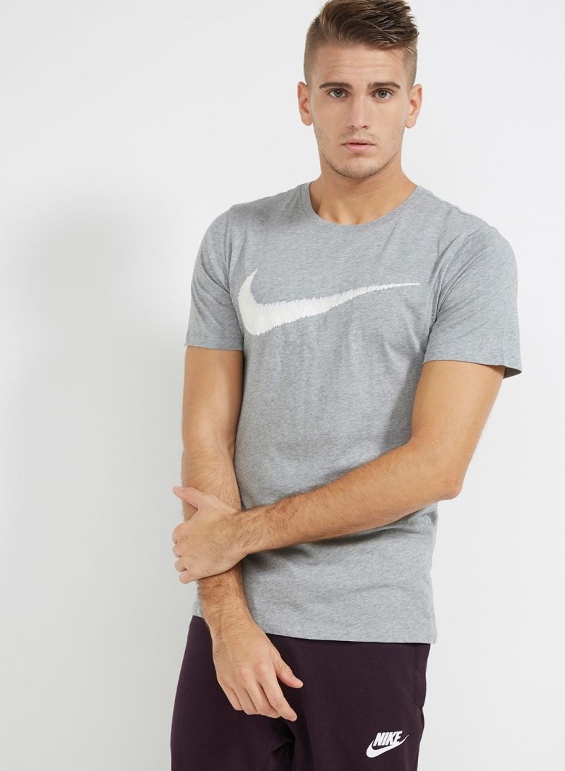 b35a81b8 Shop Nike Hangtag Swoosh T-Shirt Grey online in Egypt