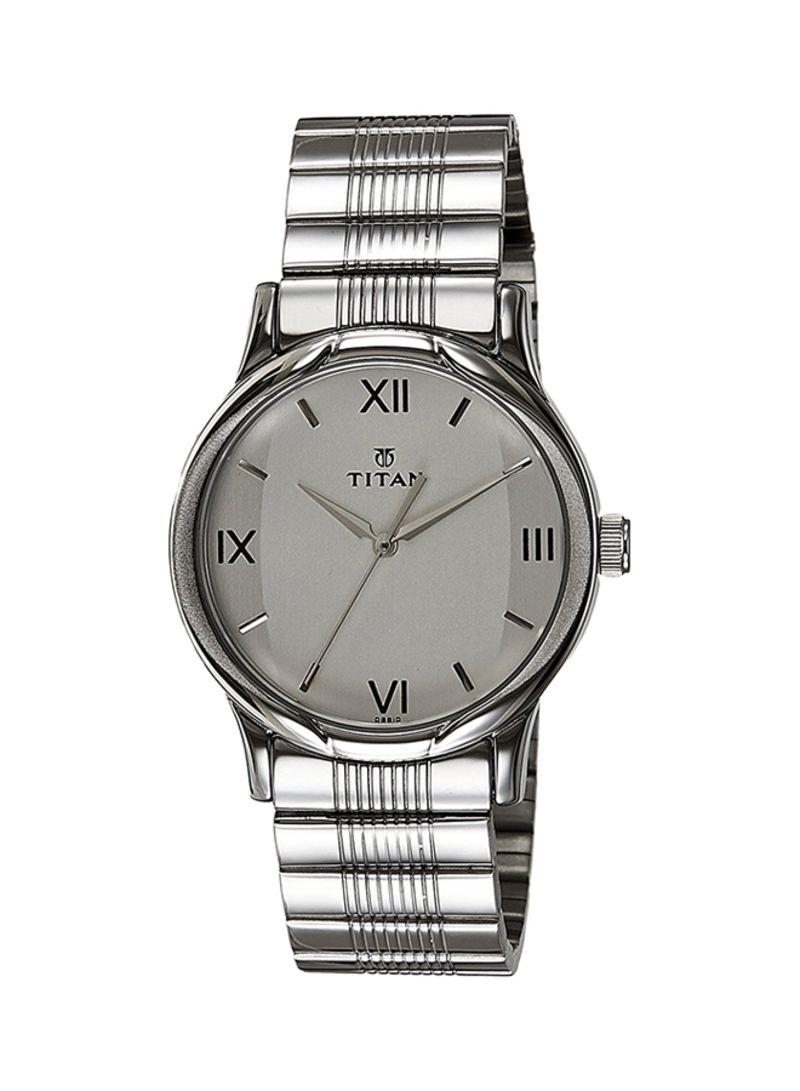 8935a5829 اشتري ساعة يد بعقارب مضادة للماء طراز NE1580SM01 للرجال في السعودية