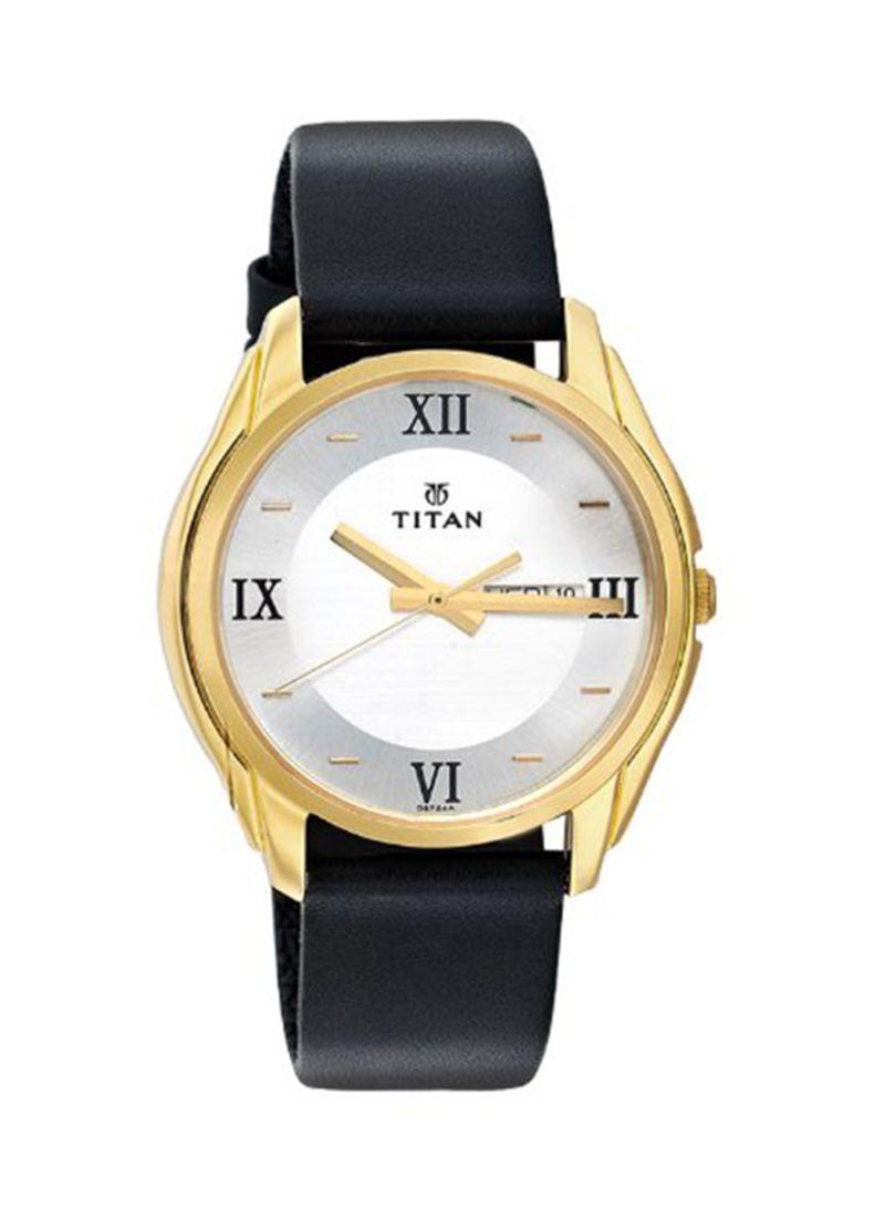 7f945076c اشتري ساعة يد بعقارب مضادة للماء طراز NE1578YL04 للرجال في السعودية
