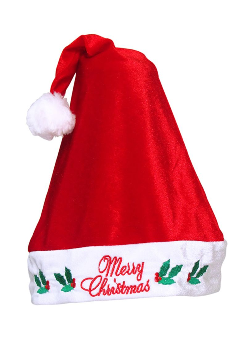 58cc4193f6a6b Shop CHRISTMAS MAGIC Merry Christmas Santa Hat Standard online in Egypt