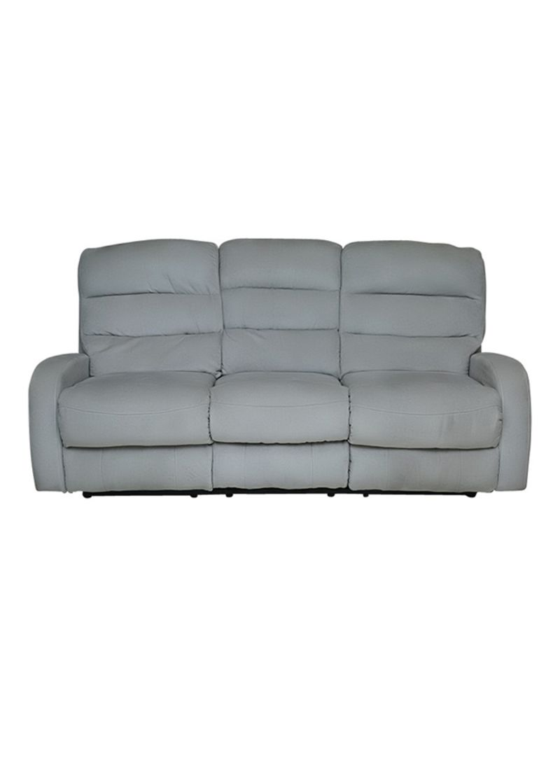 Terrific 3 Seater Agenta Recliner Sofa Grey 200X90X90 Centimeter Pabps2019 Chair Design Images Pabps2019Com