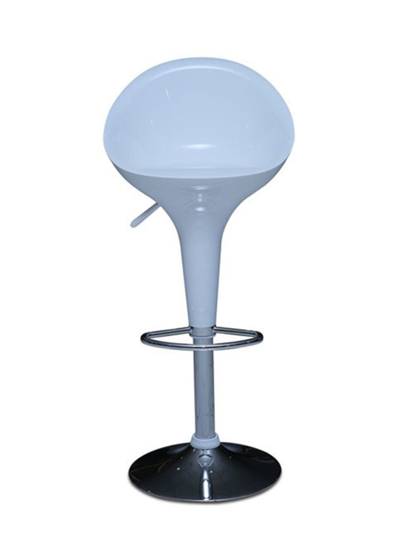 Marvelous Shop Pan Emirates Arcade Bar Stool White Online In Dubai Abu Dhabi And All Uae Creativecarmelina Interior Chair Design Creativecarmelinacom