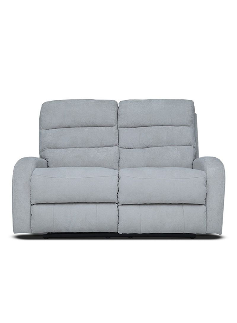 Shop Pan Emirates 2 Seater Agenta Recliner Sofa Grey Online In Dubai