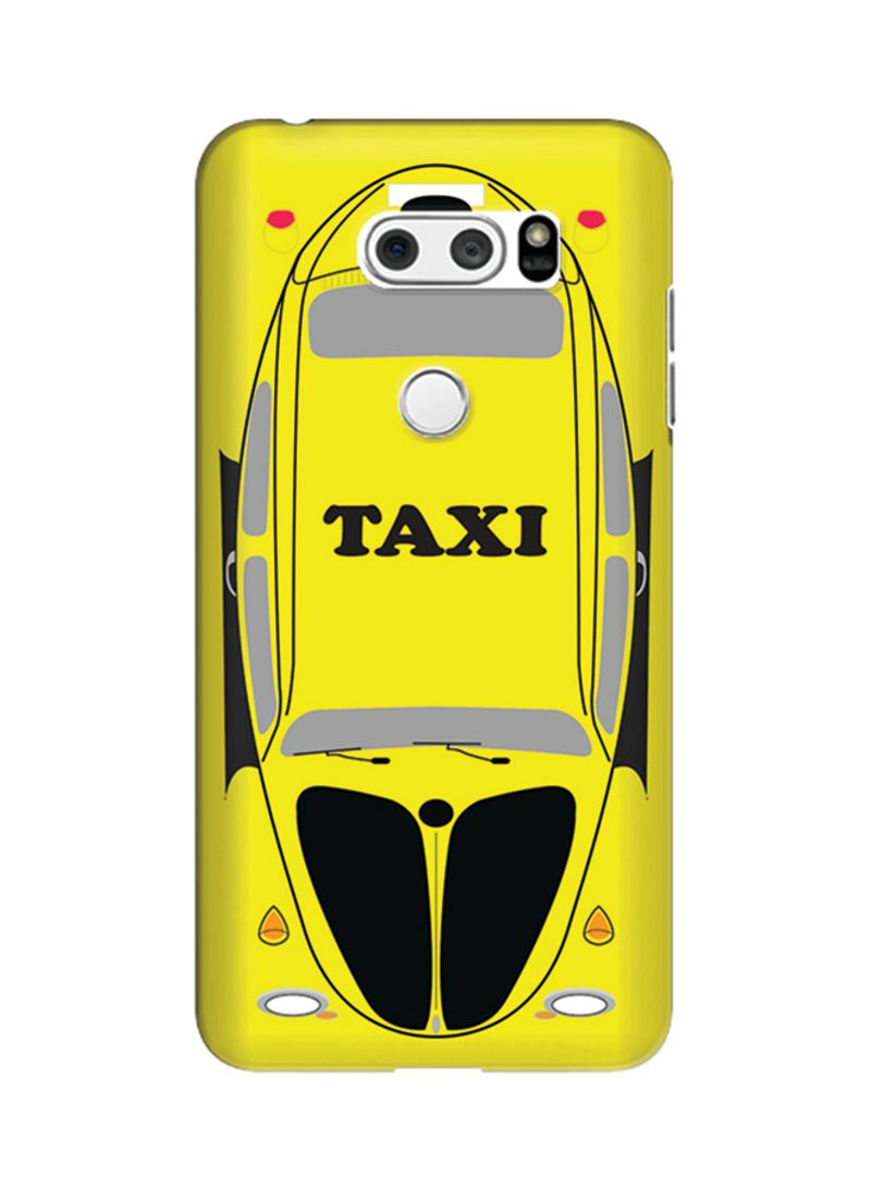 Shop Stylizedd Polycarbonate Slim Snap Case Cover Matte Finish For LG V30  Yellow Taxi online in Dubai, Abu Dhabi and all UAE