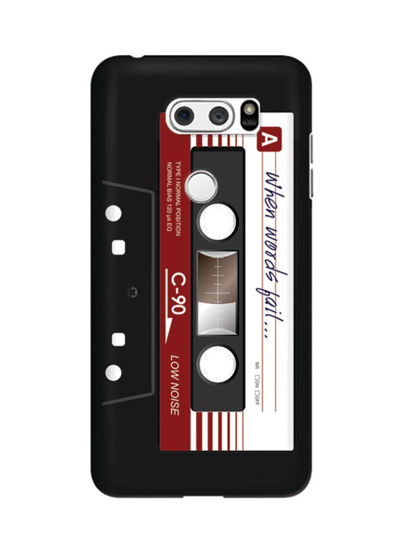 Polycarbonate Slim Snap Case Cover Matte Finish For LG V30 I Love