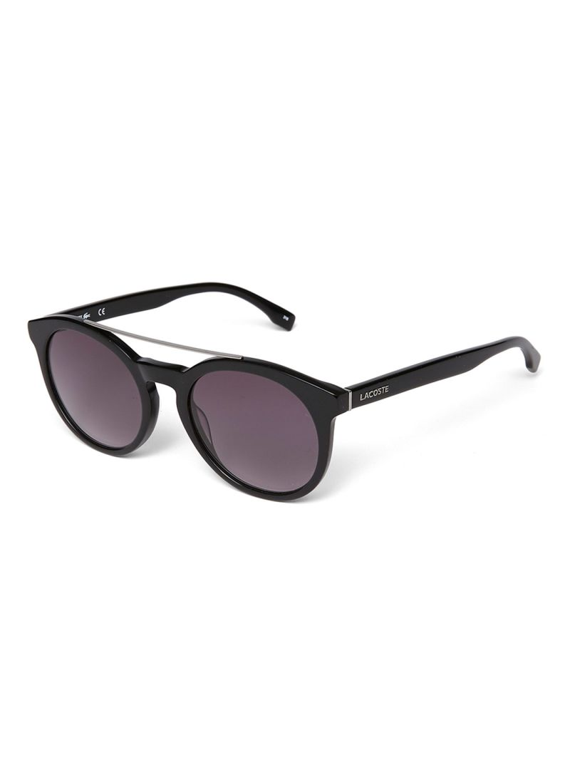 8c0b4142719a9f Shop Lacoste UV Protection Round Frame Sunglasses L821S-001 online ...