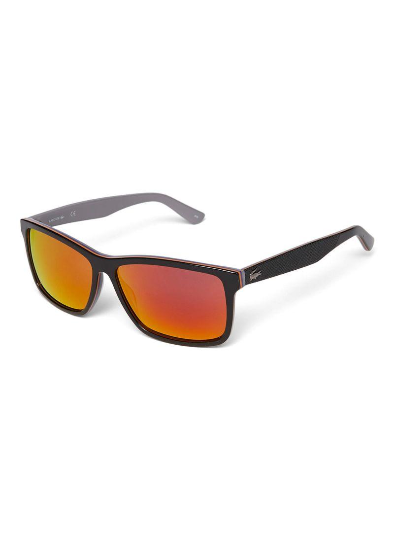 2f8c27536a9 Shop Lacoste Men s UV Protection Wayfarer Sunglasses L705S-003 ...
