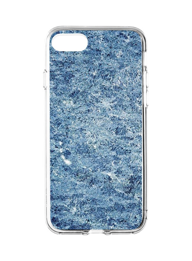 Shop Switch Flexible Hard Shell Case Cover For Apple iPhone 8/iPhone 7 Blue  Marble online in Dubai, Abu Dhabi and all UAE