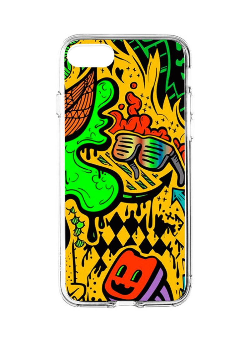 Flexible hard shell case cover for apple iphone 8 iphon