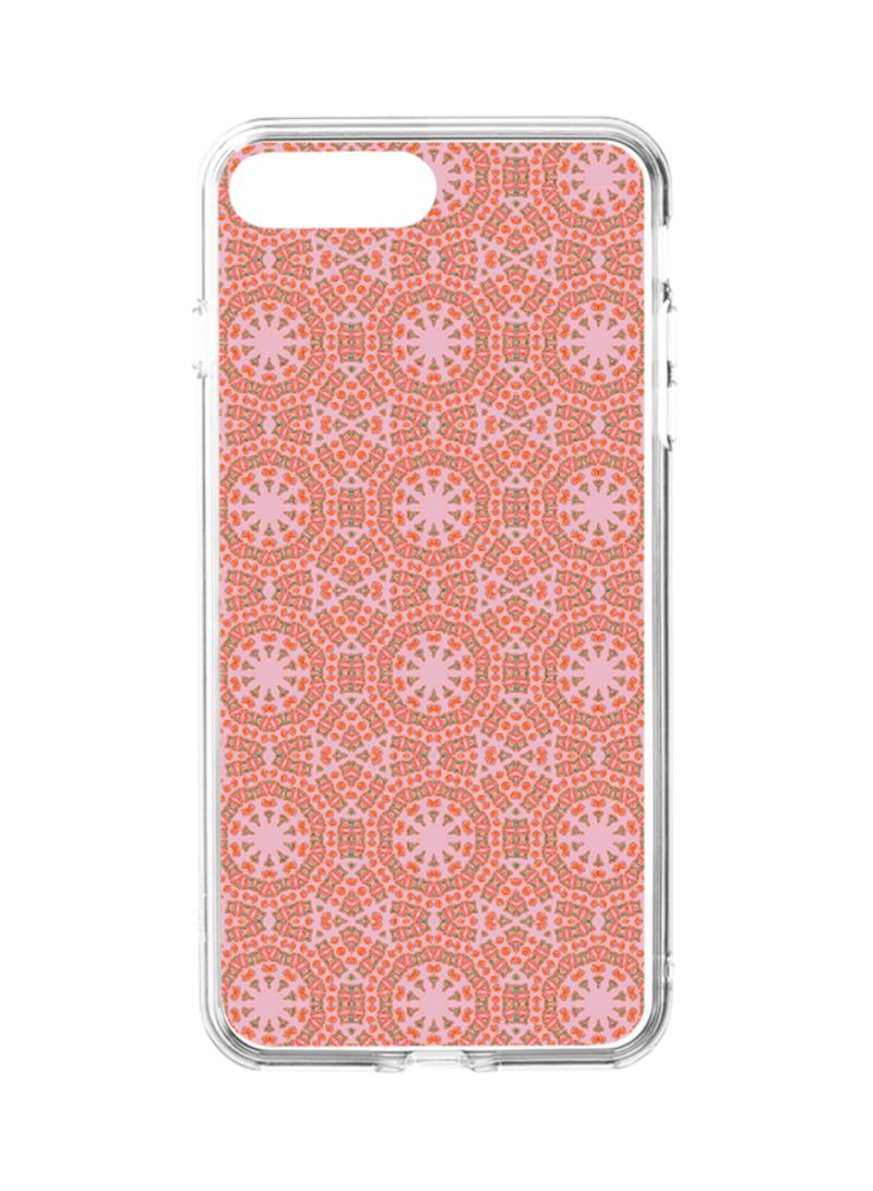 new style 9e47a a30a9 Flexible Hard Shell Case Cover For Apple iPhone 8 Plus/iPhone 7 Plus  Mandala 018