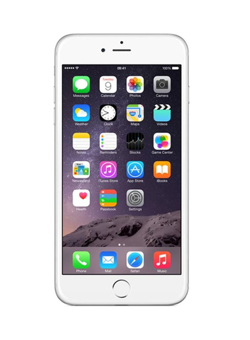 Shop Apple iPhone 6s Plus With FaceTime Silver 128GB 4G LTE