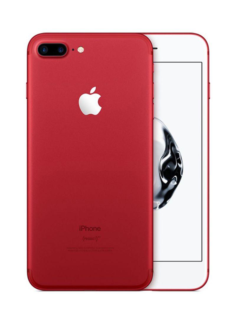 تسوق أبل وأبل آيفون 7 بلس مع فيس تايم بلون أحمر بذاكرة سعة 128 جيجابايت ومزود بخدمة 4g أونلاين في السعودية