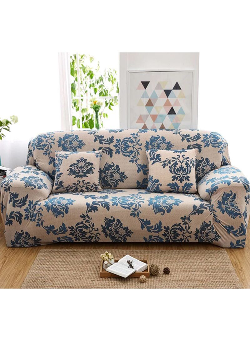 Miraculous Shop Deals For Less Two Seater Sofa Cover Beige Blue Online In Dubai Abu Dhabi And All Uae Gmtry Best Dining Table And Chair Ideas Images Gmtryco
