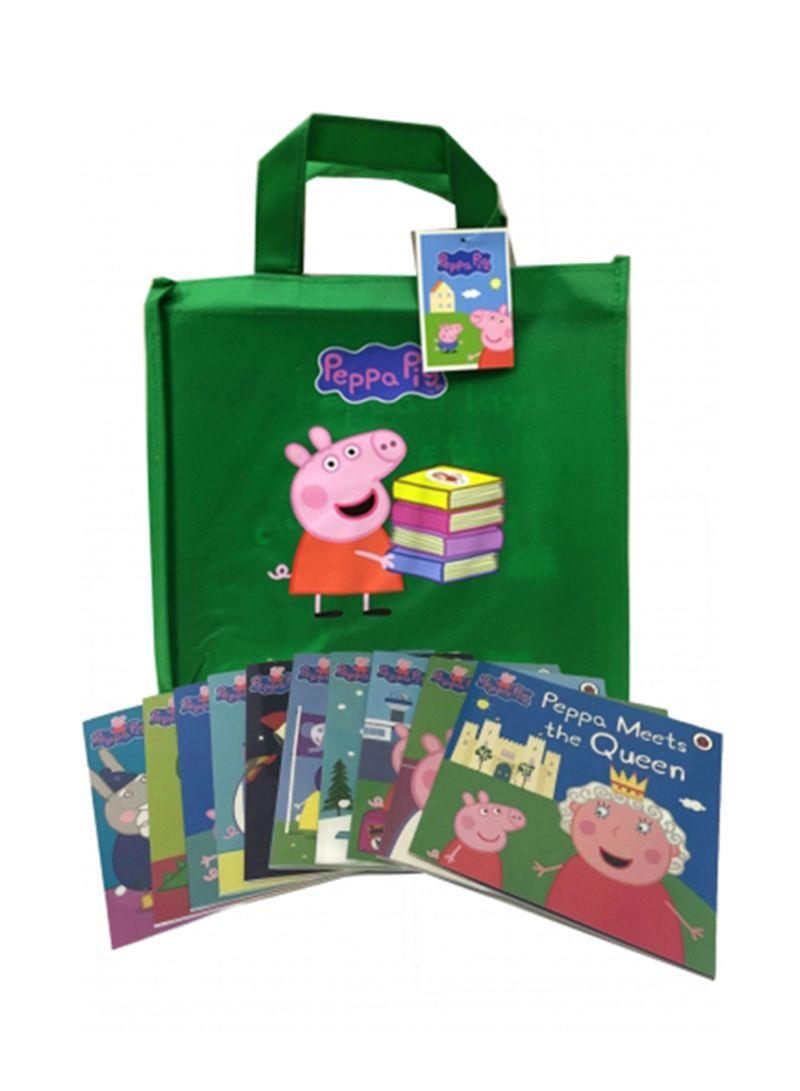 Shop Peppa Pig Story 10 Books Set With Gift Bag Board Book Online In Dubai Abu Dhabi And All Uae