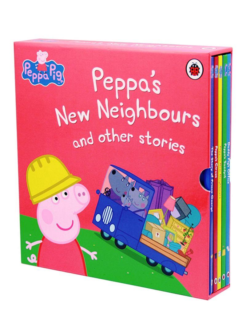تسوق وpeppa S New Neighbours And Other Stories Book Set كتاب بأوراق سميكة قوية أونلاين في الإمارات