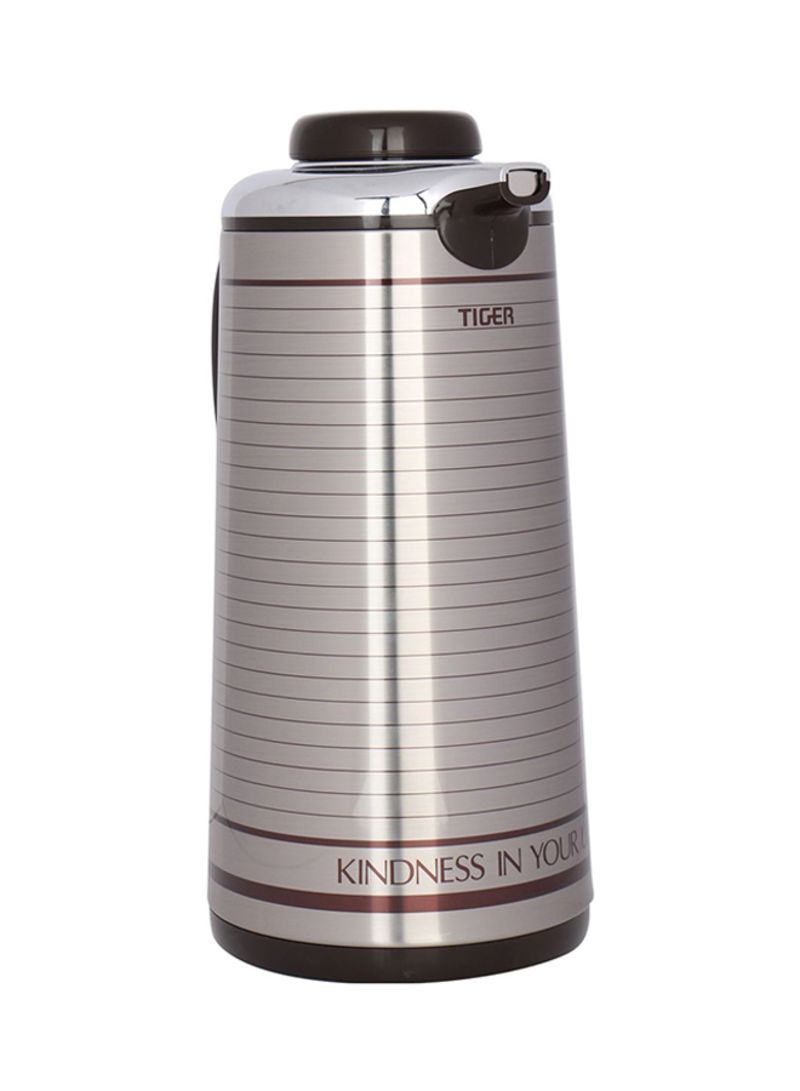 Shop TIGER Thermos Flask Silver 1 9 liter online in Dubai