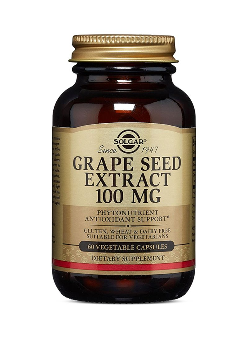 Shop Solgar 60 Capsules Grape Seed Extract Online In Dubai Abu Borges Grapeseed Oil 500 Ml Otheroffersimg V1511965842 N12854008a 1