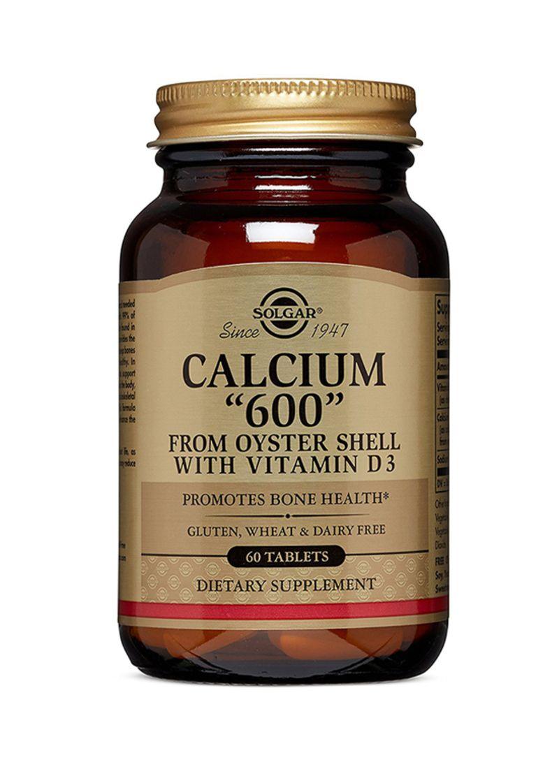 60 Tablets Calcium Nutrition Puritans Pride Magnesium Citrate Plus Vitamin D 100 Capsules