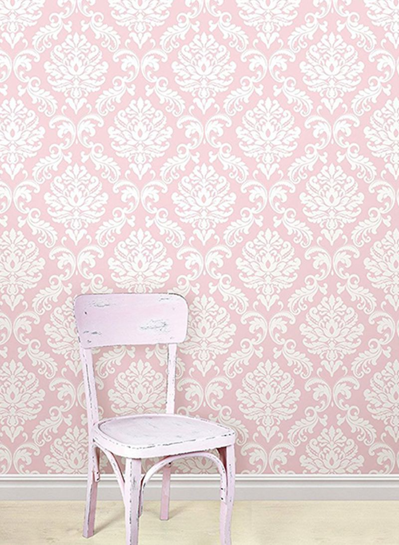 Shop Wall Pops Ariel Peel And Stick Wallpaper Pink 20 5 X 0 1 X 216inch Online In Dubai Abu Dhabi And All Uae