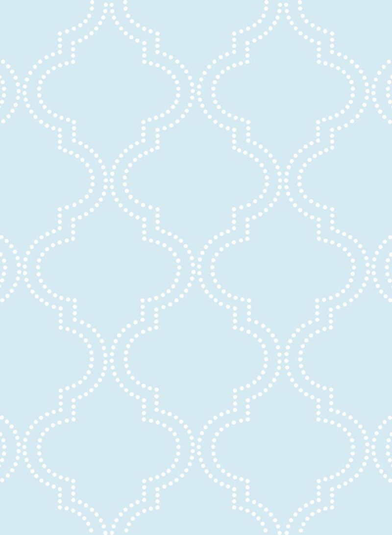 Quatrefoil Peel And Stick Wallpaper Blue 20 5 X 0 1 X 216 Inch Price In Uae Noon Uae Kanbkam