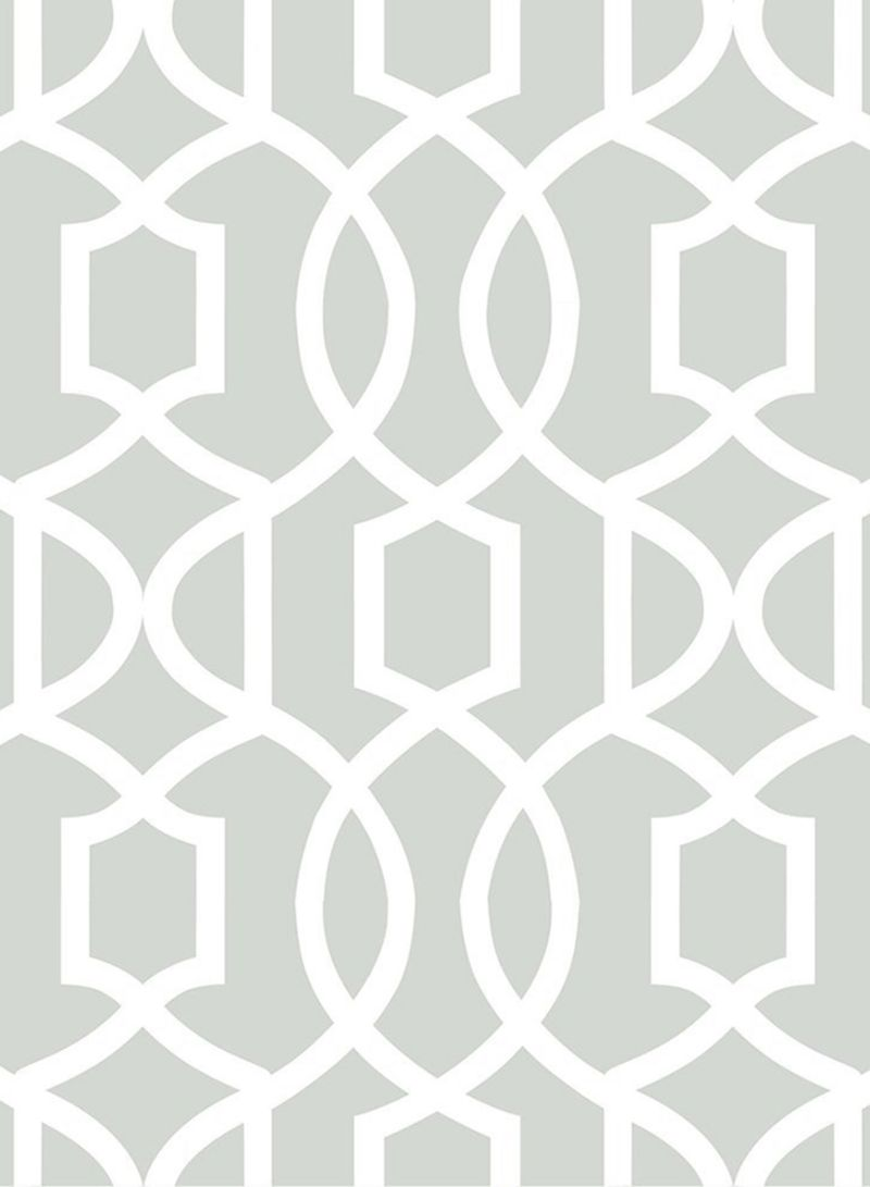 Shop Wall Pops Grand Trellis Peel And Stick Wallpaper Grey 20 5 X 0 1 X 216inch Online In Dubai Abu Dhabi And All Uae