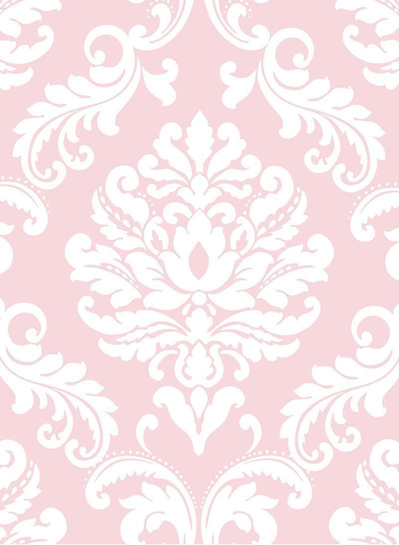 Ariel Peel And Stick Wallpaper Pink 20 5 X 0 1 X 216 Inch Price In Uae Noon Uae Kanbkam