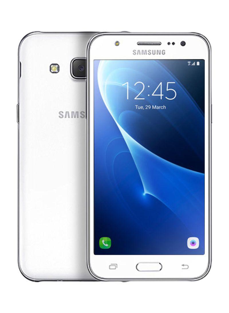 81527ed99 سعر جالاكسي J5 ثنائي الشريحة باللون الأبيض 8 جيجابايت 4G LTE فى ...