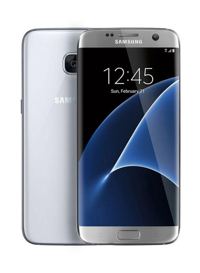 Shop Samsung Galaxy S7 Edge Dual SIM Silver 32GB 4G online