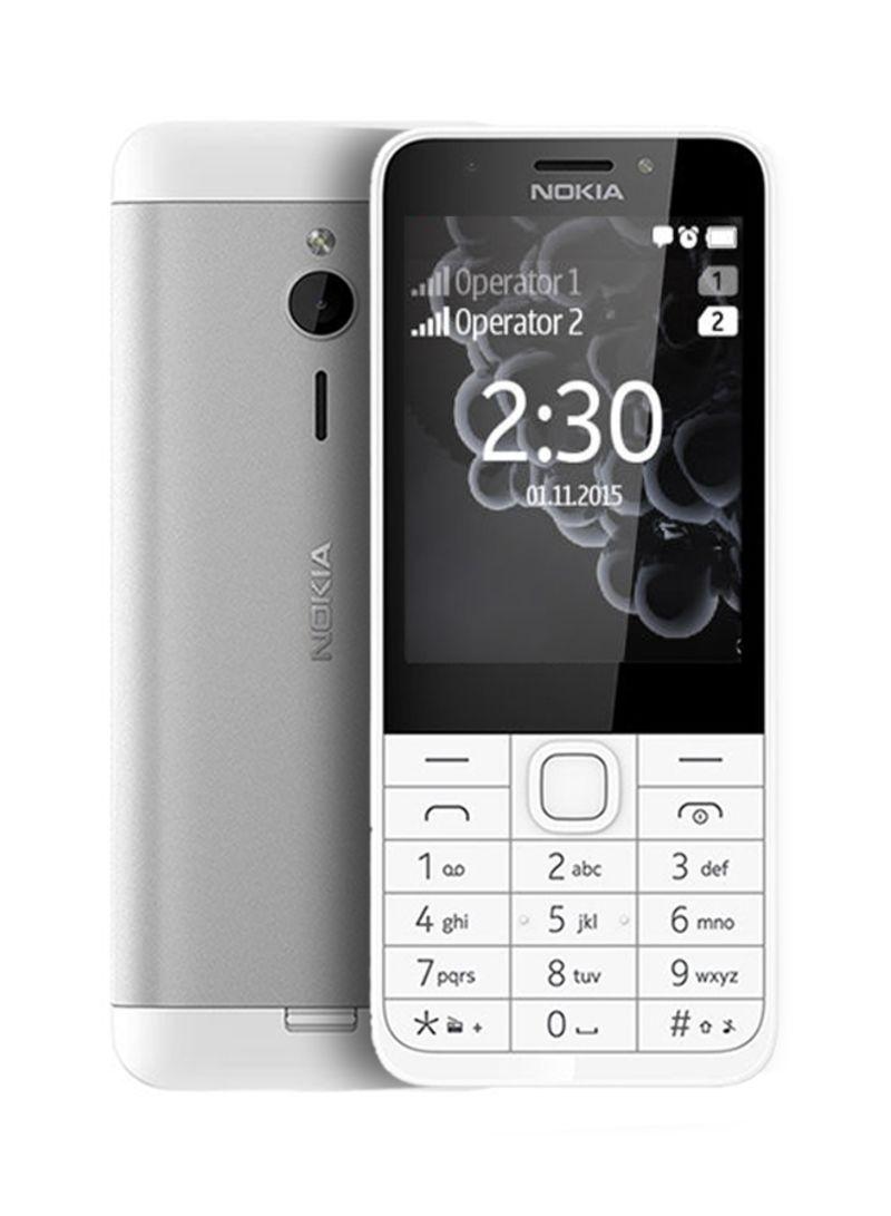 Shop Nokia 230 Dual SIM Dark Silver 2G online in Riyadh, Jeddah and all KSA