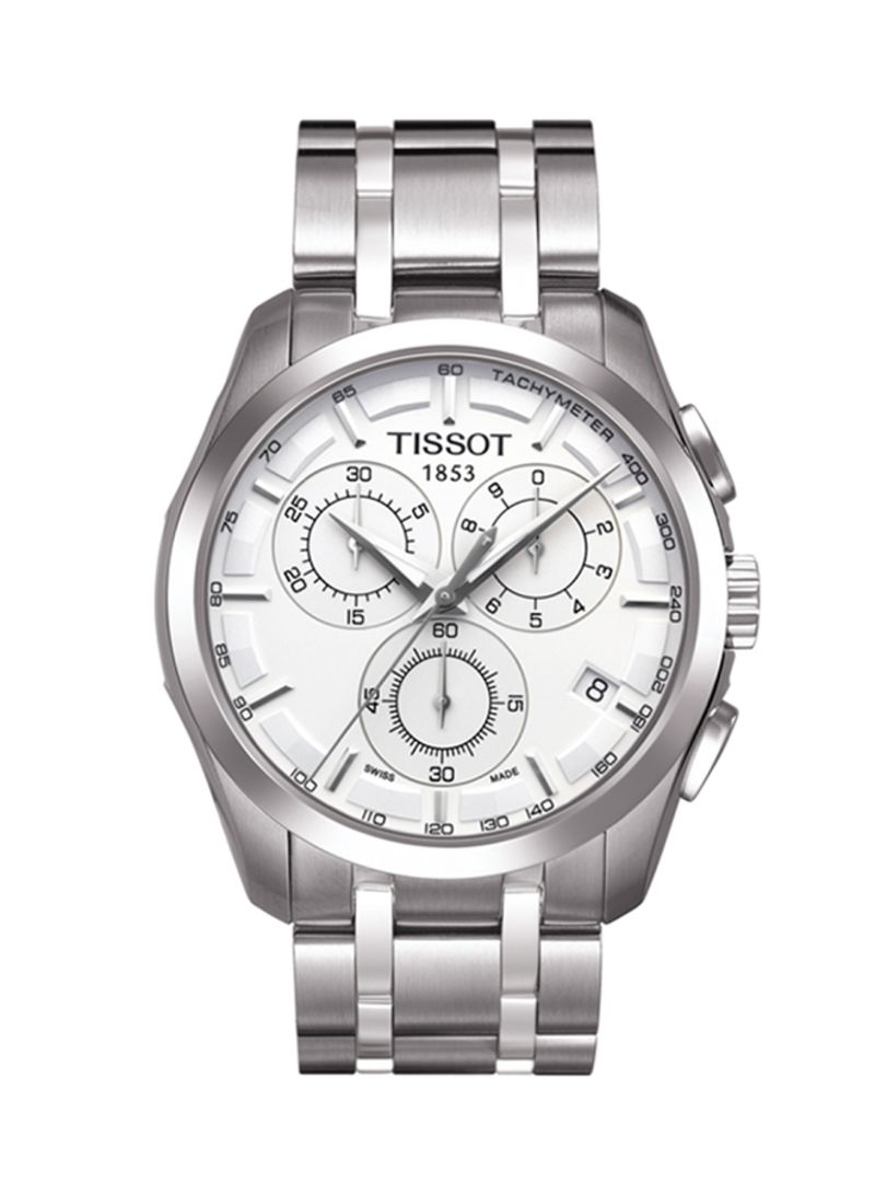 0a3b07d0e Shop TISSOT Men's Couturier Metal Watch T035.617.11.031.00 online in ...