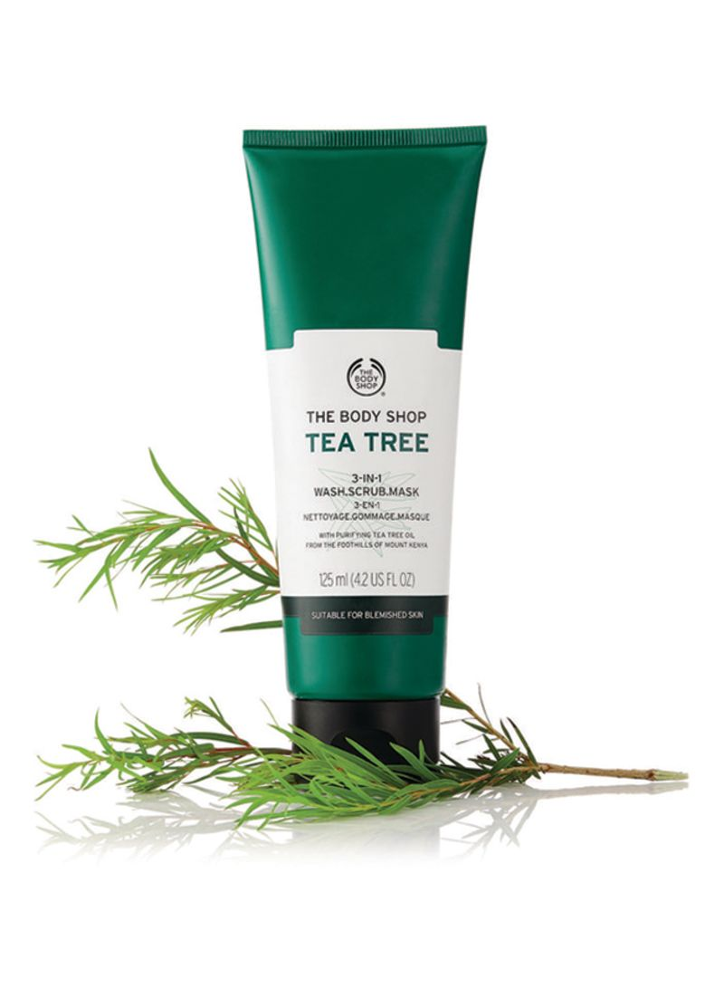 Shop the body shop Tea Tree Mask Scrub 3 In 1 125 ml online in Dubai, Abu  Dhabi and all UAE