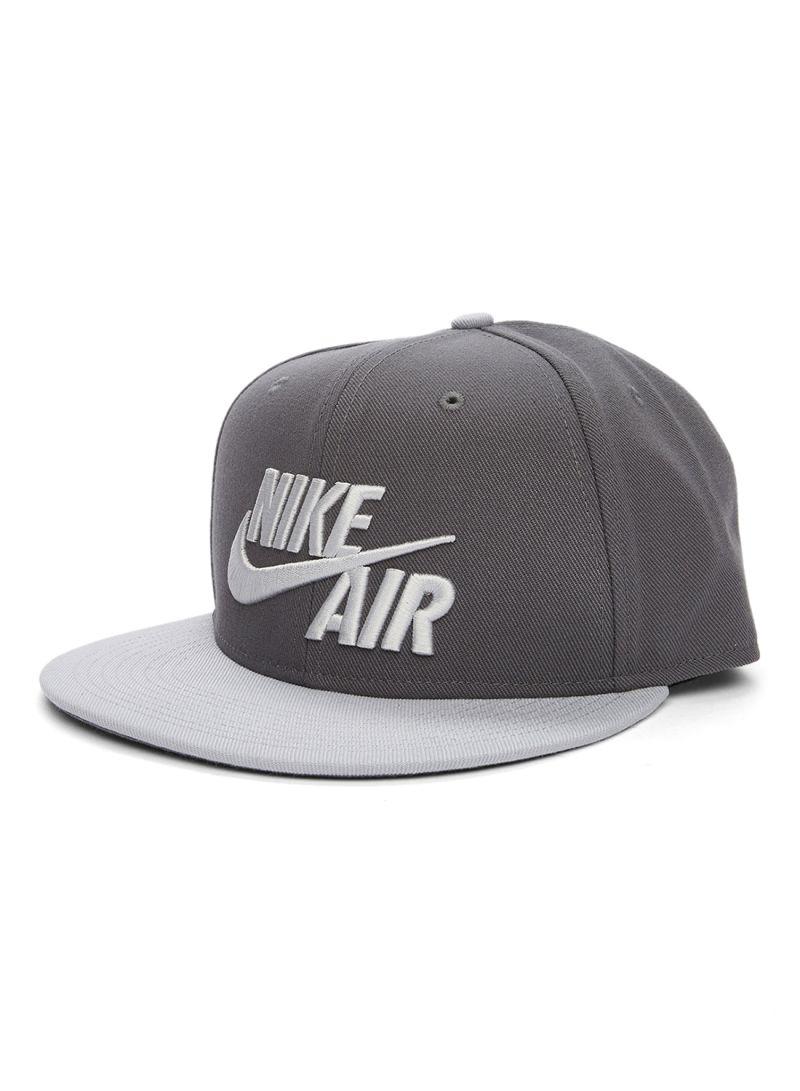 26154f8e9f3a8 Shop Nike Air True Snapback Hat Grey online in Dubai