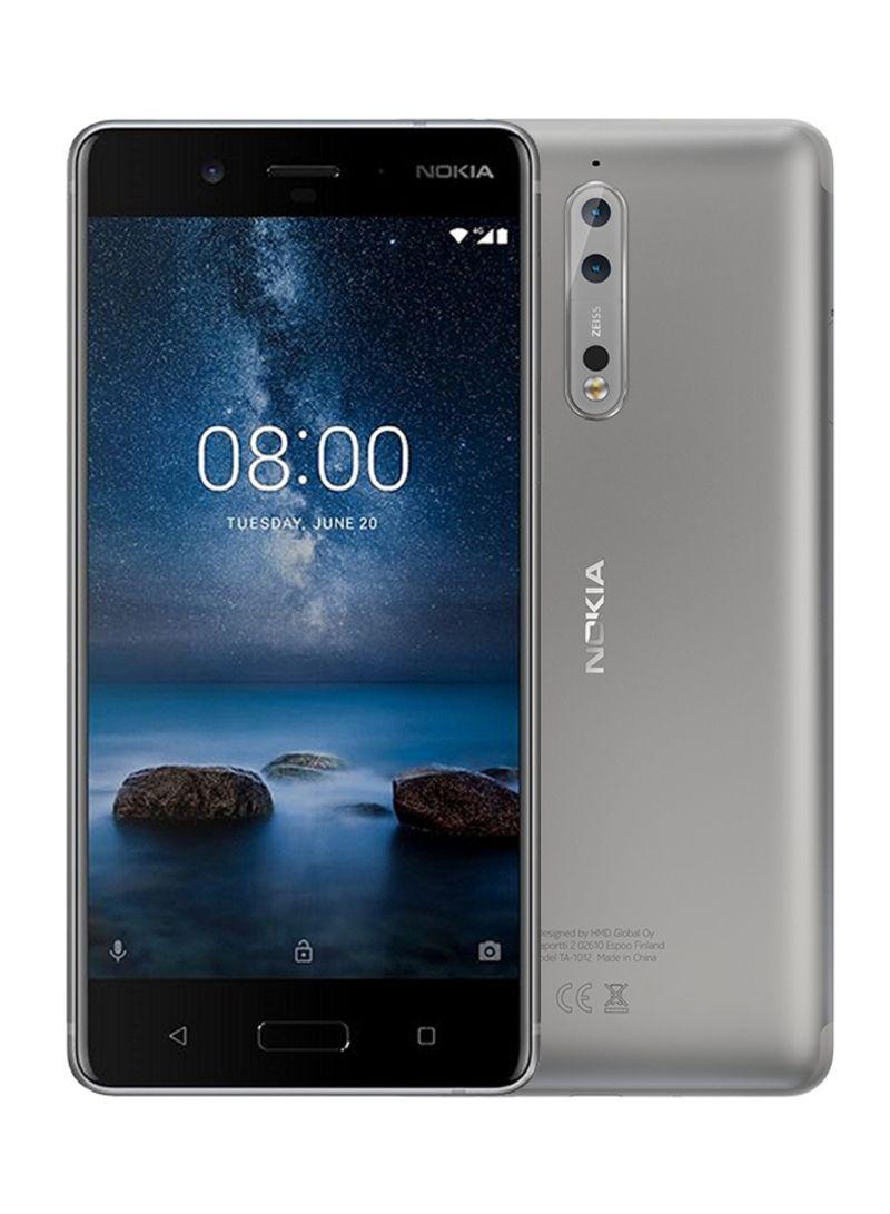 Shop Nokia 8 Dual SIM Steel 64GB 4G LTE online in Dubai, Abu Dhabi and all  UAE