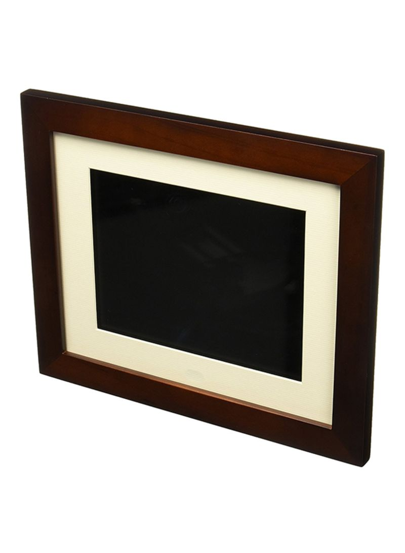 Shop Pandigital 8 Inch Digital Photo Frame Wooden Multicolour