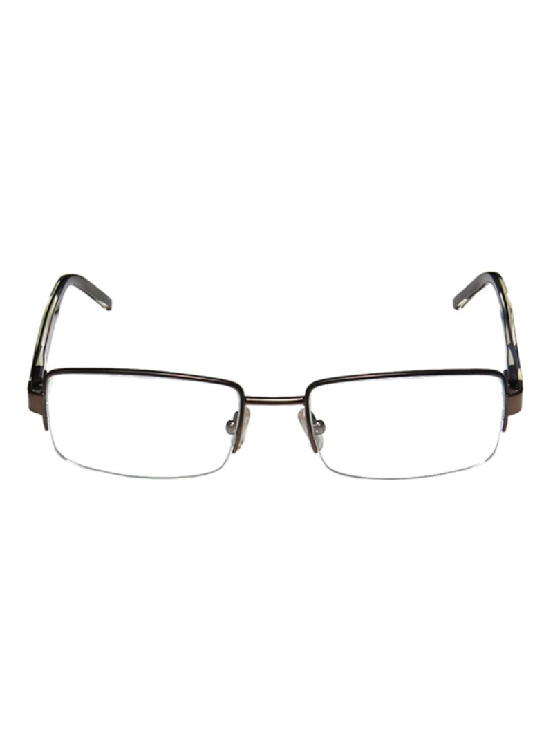 758cded0a770 Buy Men s Semi-Rimless Rectangular Eyeglass Frame 0253-PK5-53 in Saudi  Arabia