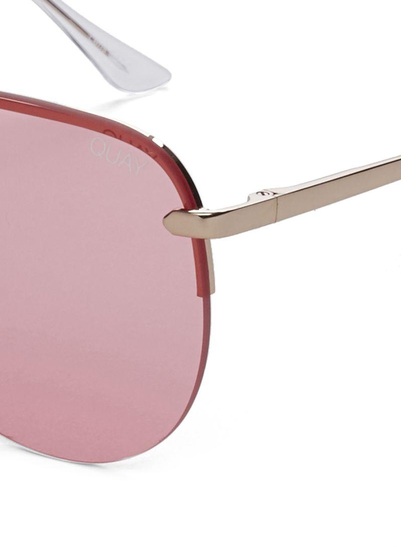 5c119ec227e81 Shop Quay Australia Women s The Playa Sunglasses QW-000156-ROSE PNK ...