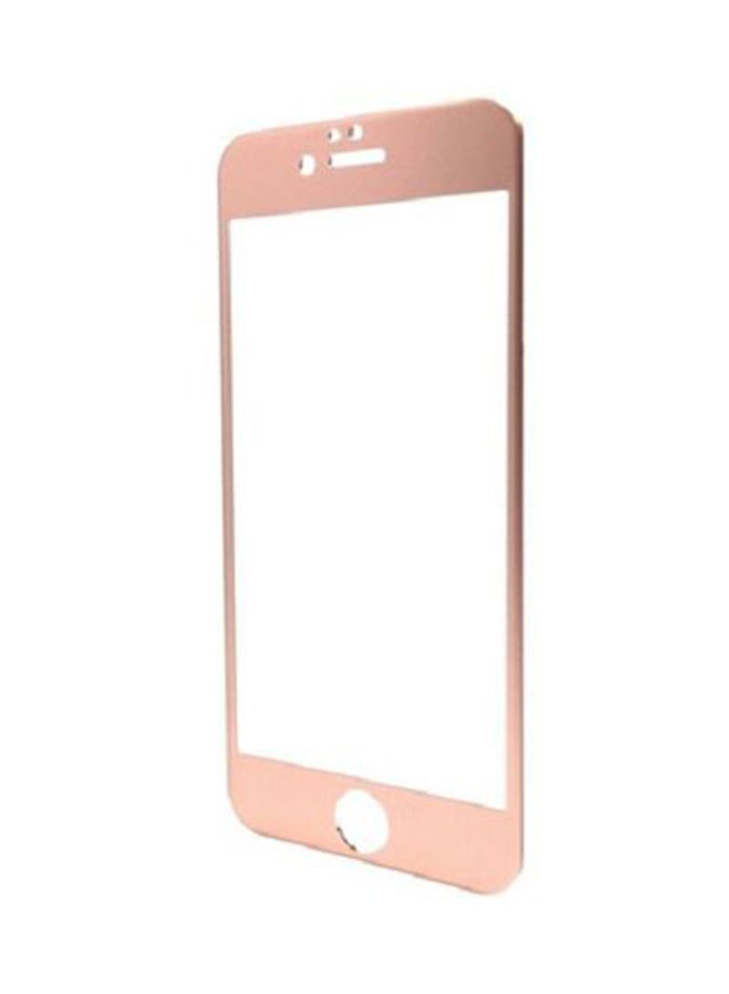 3D Full Coverage Tempered Glass Screen Protector For Apple iPhone 8 Plus  Pink