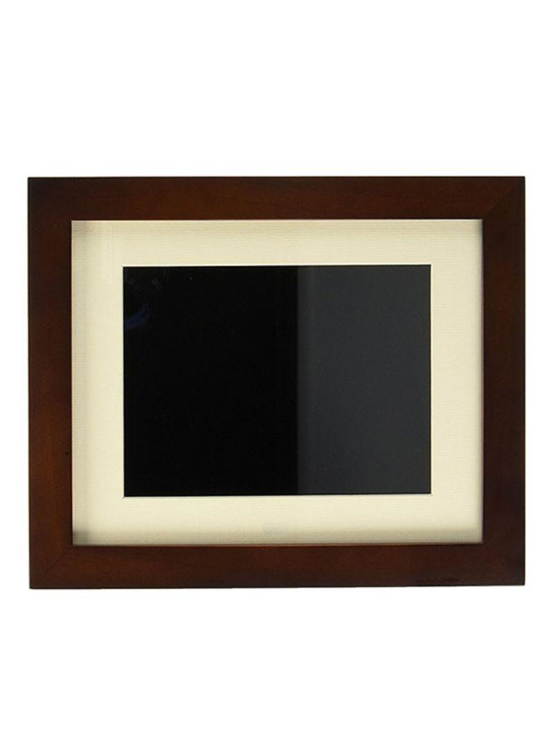 Shop Pandigital 8 Inch Digital Photo Frame Wooden Multicolour