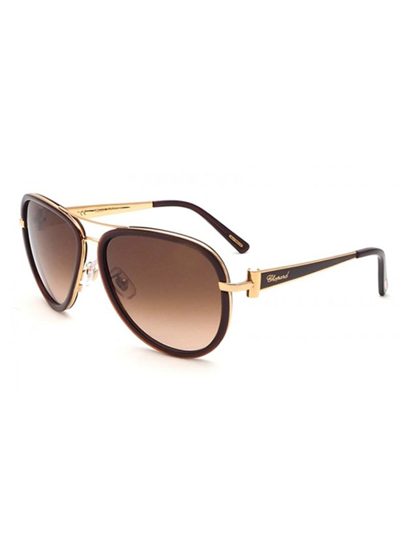 5c86c69fab Shop CHOPARD Women s Oval Frame Sunglasses SCHB27S 58 0316 online in ...