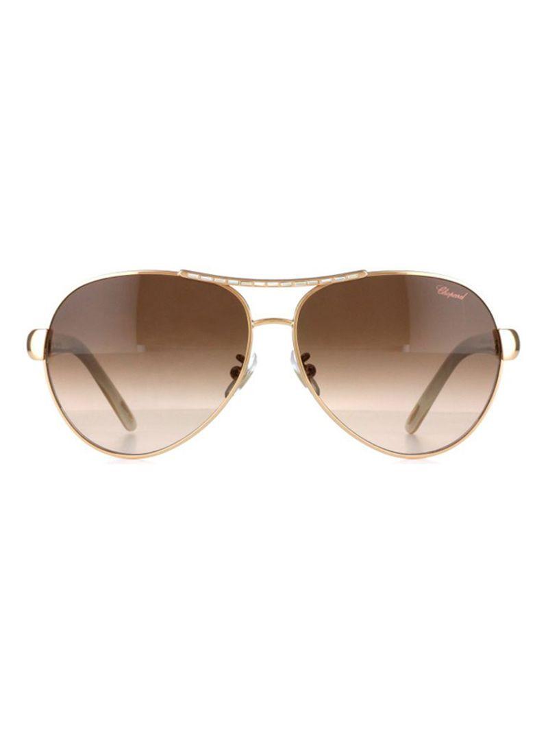 e609476f8 تسوق شوبارد ونظارة شمسية بإطار بيضاوي طراز SCHA59S للنساء أونلاين في ...